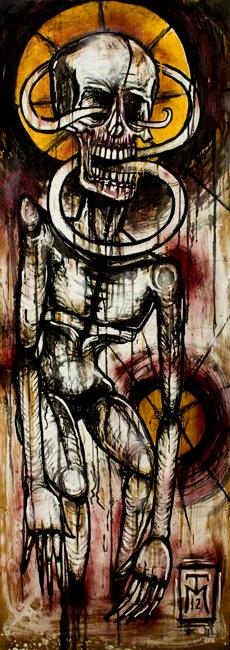 Regret - Danse Macabre Painting