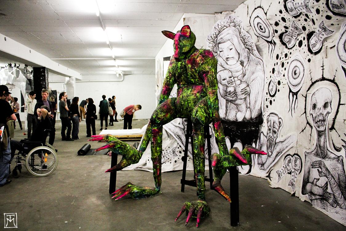 Degenerate Chromatism - Urban Art Installation