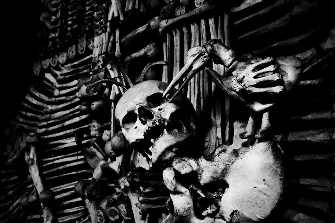 Sedlec Ossuary - Kutna Hora, Czech Republic